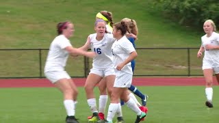 Girls' Soccer Highlights: Old Lyme 3, Old Saybrook 0