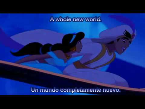 Aladdin – A Whole New World