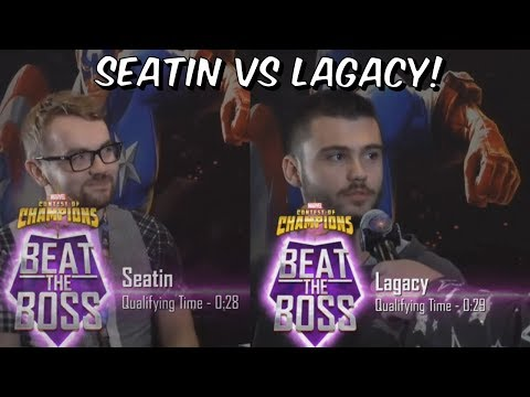 Beat The Boss Tournament NYCC Friday Final 2019 - Seatin VS Lagacy Marvel Contest of Champions