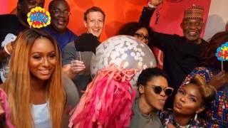Mark Zuckerberg Visits Nollywood