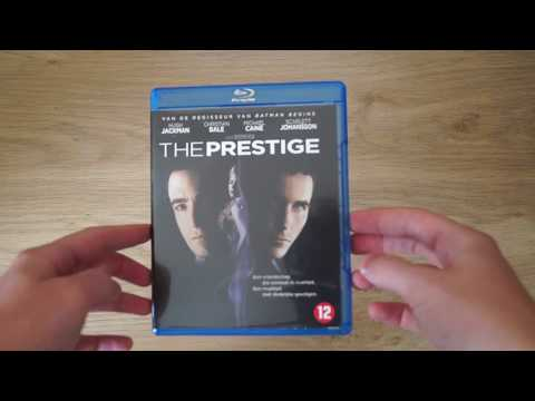The Prestige Blu-Ray Review Unboxing