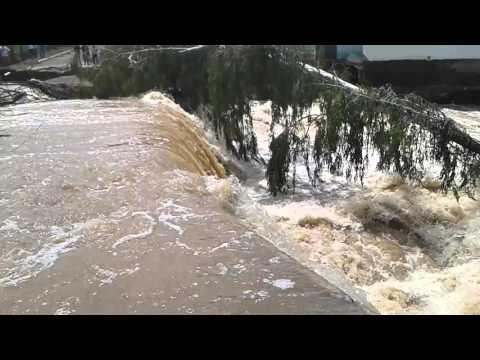 Enchente em Tremedal 2008