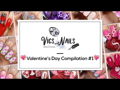 Nail designs - Valentine's Day nail compilation! 11 cute designs