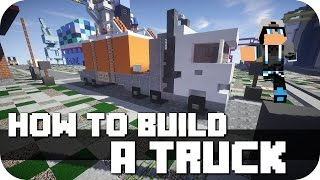 """Minecraft - How to Build: a really nice Truck! Fourth Video of my """"How To Build Series"""". Next will be another Truckk, other Cars, small planes and so on! Take a look at the Videos before :)►FACEBOOK: https://www.facebook.com/DaxMatic►GOOGLE+: https://plus.google.com/+DaxMatic/posts..............................................................................................« CINEMATICS (PLAYLISTS) »► EPIC! - Series: http://bit.ly/1OuH1UC► TexturePacks: http://bit.ly/1DpXNhu► RollerCoasters: http://bit.ly/1DYCFUe► Server-Map: http://bit.ly/1Eh9f5J► Mansions: http://bit.ly/1xrKO1q► Modern Buildings: http://bit.ly/1AewzwC► Ships/Yachts: http://bit.ly/1wYEo8Q..............................................................................................« CREDITS »► Intro: https://www.youtube.com/user/WinstonePicture► Outro: https://www.youtube.com/user/OffTM4► Music: Jim Josef - Lights / Firefly► My Server: mc.paradisefalls.eu..............................................................................................« MINECRAFT »► Official Site: https://minecraft.net/► ResourcePack: Flow's HD fixed by DaxesMC► ShaderMod: Seus 10.1 Ultra► Version: 1.7.10.............................................................................................."""