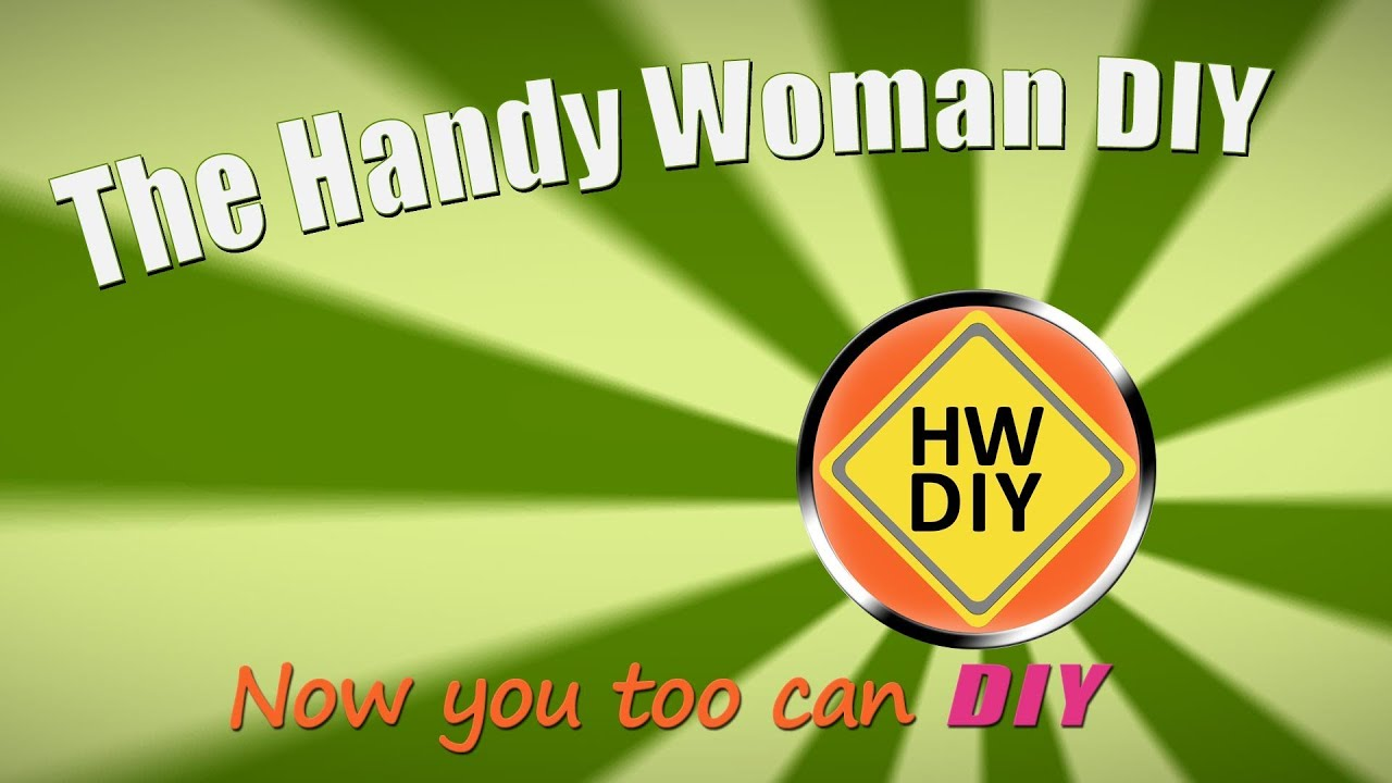 Web Series The Handy Woman DIY's Poster Frame.