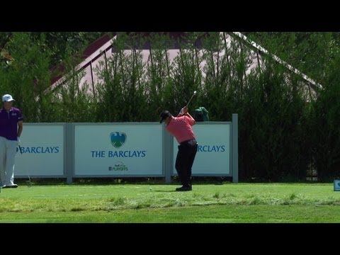 K.J Choi's ace at the 14th hole at the 2013 Barclays Tournament
