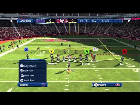 Madden 13 Tips – Giant Empty- Slot Stick (Money Pass Play)