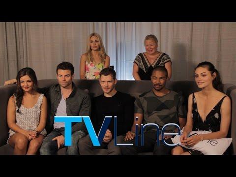 """The Originals"" Interview at Comic-Con 2014 - TVLine"