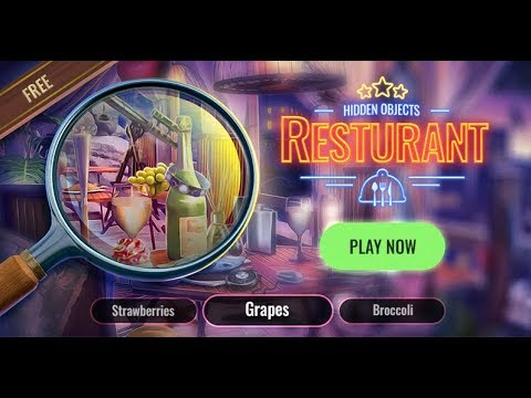 Restaurant Hidden Objects Game – Cleaning Games To Search For Hidden Items – Best Android Games 2019