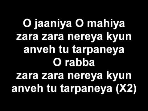 Ezu - Jaaniya Lyrics