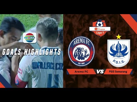 Arema FC - PSIS Semarang 1:1. Видеообзор матча 31.08.2019. Видео голов и опасных моментов игры