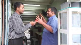 Public Opinion Mr. Haja ( Roti Bakar ) @ Jalan Masjid Kapitan Keling