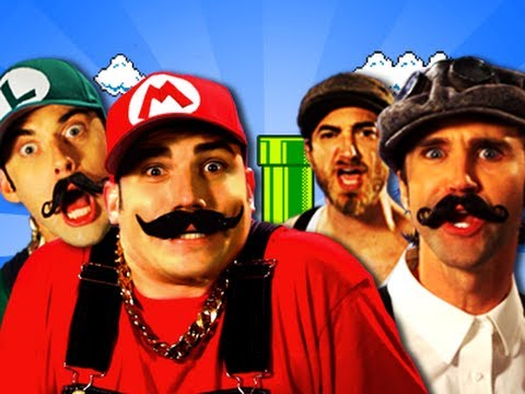 Mario Bros vs Wright Bros.  Epic Rap Battles of History Season 2 (видео)