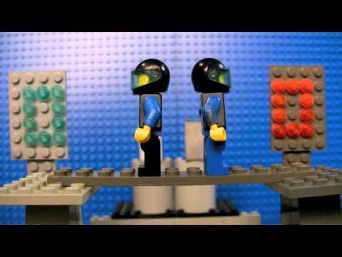 Tron in Lego