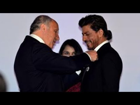 Shah Rukh Khan Receives 'Knight Of The Legion Of Honour', France's Highest Honour