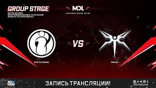 Invictus Gaming vs Mineski, MDL Changsha Major, game 2 [Jam, Inmate]