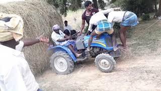 Sonalika 20hp 4x4 mini tractor dangers ramp