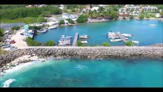 Gosier Guadeloupe  city pictures gallery : Plage de Saint-Félix au Gosier en Guadeloupe