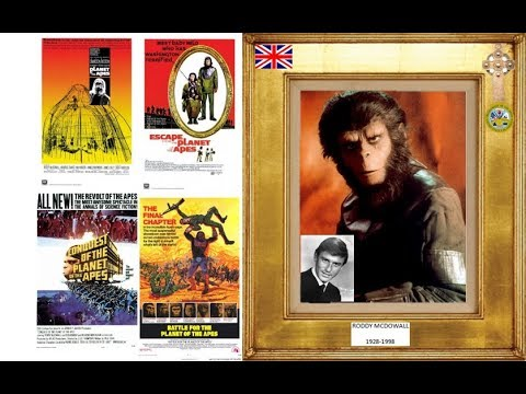 RODDY MCDOWALL 1928-1998 (the Planet Of The Apes Series) 1968-73