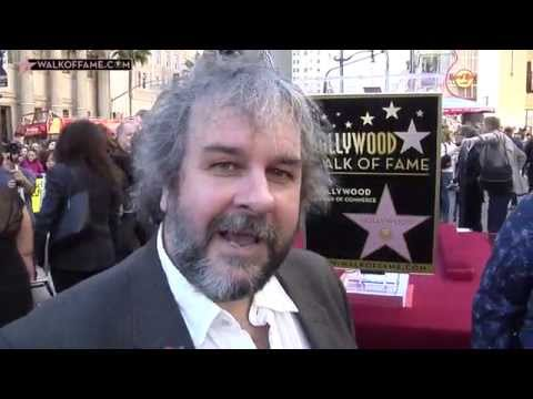 Peter Jackson Walk of Fame Ceremony