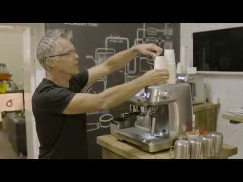 The Sage Oracle – the Automated Manual Espresso Machine – Launch at the London Coffee Festival –