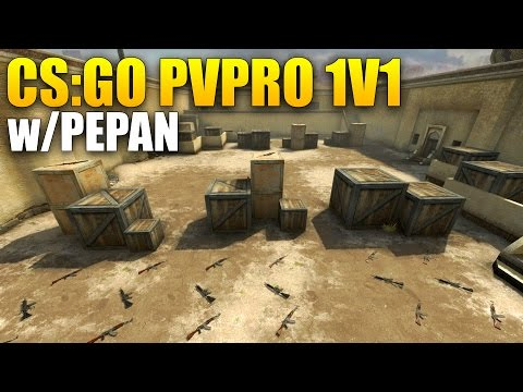 CS:GO - PvPro 1v1: RAGEQUIT :D w/Pepan