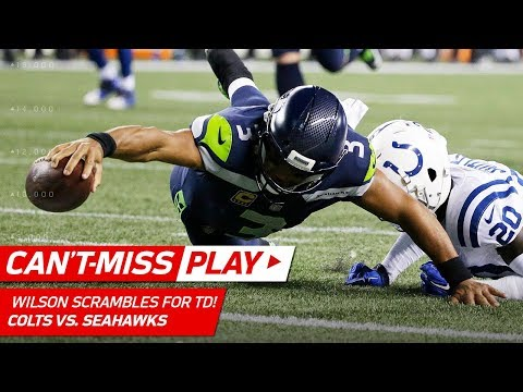 Video: Russell Wilson Scrambles & Dives for the TD vs. Colts! | Can't-Miss Play | NFL Wk 4 Highlights