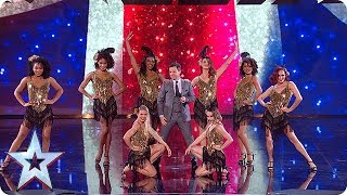 There's No Business Like Show Business! Dec opens the show in style... | Semi-Finals | BGT 2018