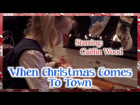 """Meagan Moore, Matthew Hall  """"When Christmas Comes To Town"""" Cover"""