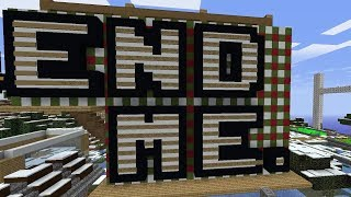 Enslaving 100 Minecraft Players and forcing them to build Santa's Amazon Warehouse