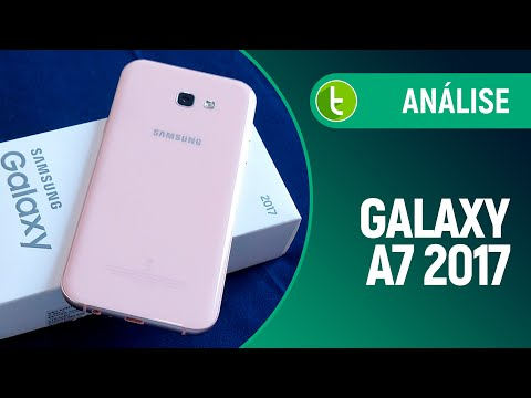 Análise do Galaxy A7 2017  Review do TudoCelular