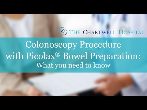 Colonoscopy Procedure with Picolax® Bowel Preparation - The Chartwell Hospital