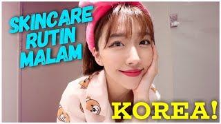 RAHASIA KULIT BENING! SKINCARE RUTIN MALAM CEWEK KOREA