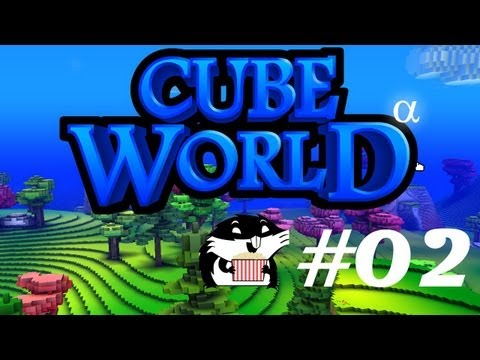 Cube World с Сибирским Леммингом #02: Кооператив с Вилли