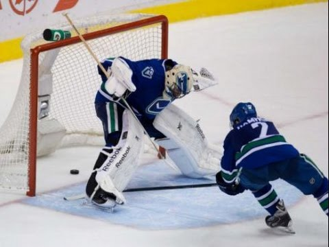Топ 10 Самых смешных голов в истории хоккея/ Top 10 funniest hockey goals (видео)