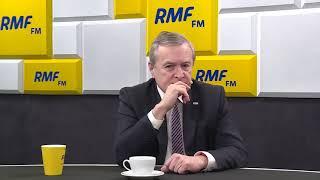 Wicepremier Piotr Gliński w Rozmowa RMF przerwał wywiad i wyszedł ze studia po pytaniu o pieniądze dla ECS