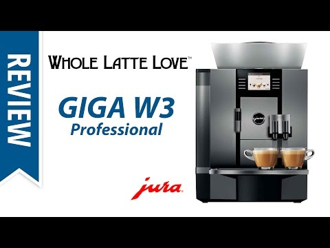 Review: Jura Giga W3 Professional Espresso Machine