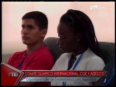 Cómité Olímpico Internacional, COE Y ADECCO organizaron taller de empleabilidad para deportistas