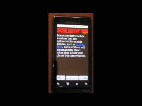 Video of Droid Secret Tips Pro