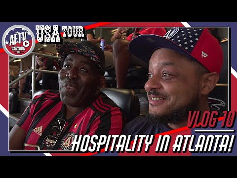 Robbie & Troopz Get Southern Hospitality In Atlanta! | AFTV Vlog In The USA Day 10