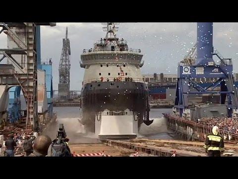 Ρωσία: Έτοιμο το πρώτο παγοθραυστικό του πολεμικού ναυτικού