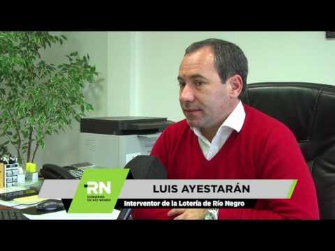 Luis Ayestarán - Lotería transfiere fondos al Estado