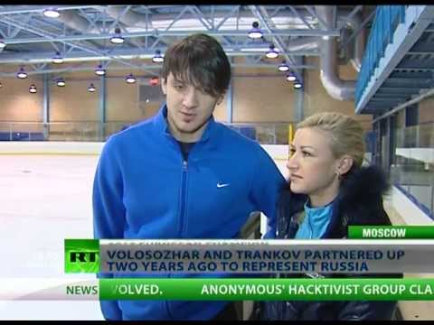 Pairs Figure Skating Gold - Reigning European pair skating champions Tatiana Volosozhar and Maksim Trankov say nothing but gold will suffice for them at Russia's first-ever Winter Olymp...