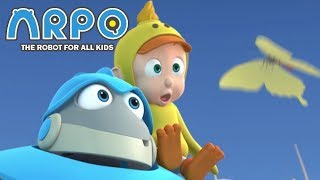 Video ARPO The Robot For All Kids - Ducky Day Out | Compilation | Cartoon for Kids MP3, 3GP, MP4, WEBM, AVI, FLV Mei 2019