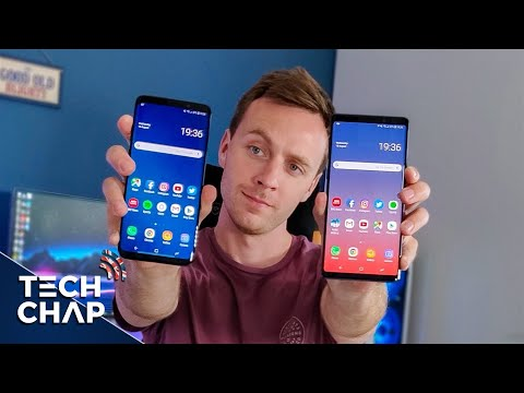 Samsung Galaxy Note 9 vs Galaxy S9 Plus - Which Should You Buy? | The Tech Chap (видео)