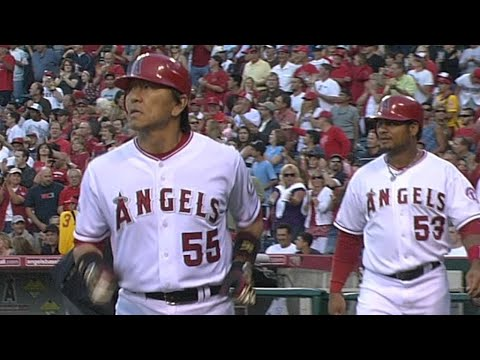 Video: COL@LAA: Matsui blasts a grand slam to center field
