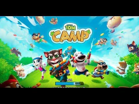《湯姆貓陣營 Talking Tom Camp》手機遊戲玩法與攻略教學!