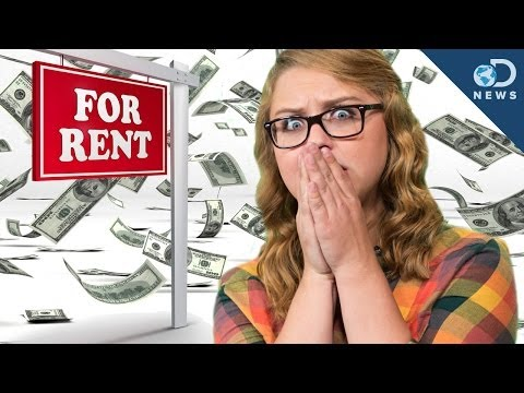 too - If you live in a big city these days, chances are you or someone you know has complained about the ever-increasing price of rent. Laci Green looks at the rea...