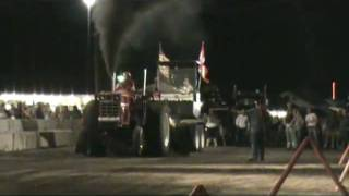 The Adirondack Truck and Tractor Pullers (ATPA) 8500lb Altered Stock Tractors from the fifith event of the season at Malone, New ...