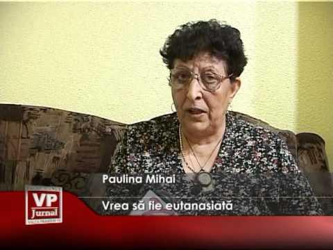Vrea să fie eutanasiată